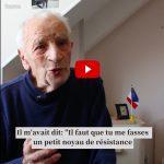 Eugène, 95 ans, raconte le jour de 1943 où il est devenu Résistant. Juste respect.