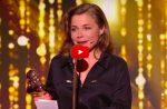 Quand Blanche Gardin remet le Molière de l'Humour… et qu'elle le gagne!