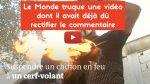 Fake «Le Monde»! 😡