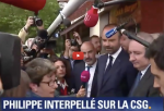 Hausse de la CSG : Édouard Philippe pris de court face à une retraitée. Les Quinquagenius et + seraient une force électorale qui compte s'ils se groupaient…