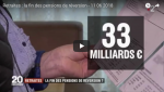 """""""Certaines futures pensions de réversion pourront baisser"""" dixit le porte-parole du gouvernement, Christophe Castaner"""