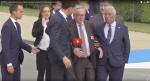 11 Juillet – Jean-Claude Juncker, complètement bourré au sommet de l'OTAN. Vidéo consternante