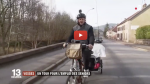 A 54 ans il s'est lancé le mois dernier dans un tour de France à vélo de 3 200 kilomètres. Son objectif : dénoncer l'âgisme à l'embauche